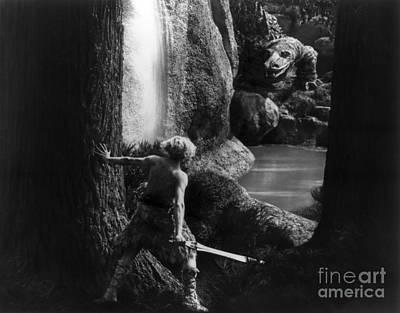Siegfried Slaying Dragon Poster by Granger