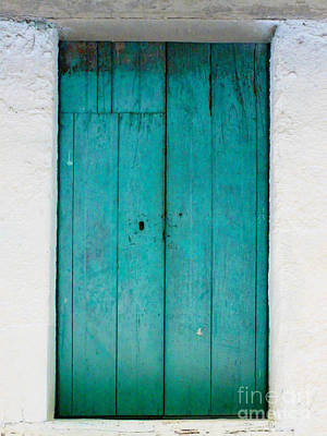 Simple Blue By Darian Day Poster by Mexicolors Art Photography