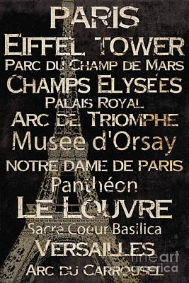 Simple Speak Paris Poster by Grace Pullen