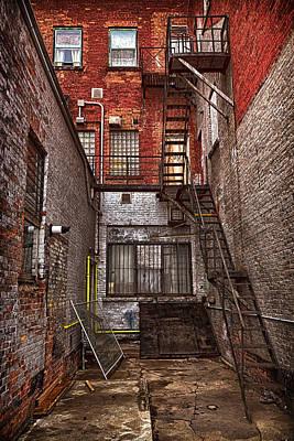 Simpson Street Back Alley Poster by Jakub Sisak