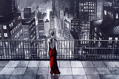Sincity Poster by Yuriy  Shevchuk
