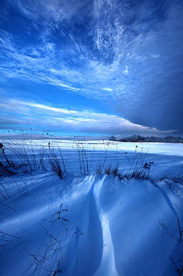 Singing The Blues Poster by Phil Koch