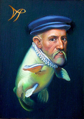 Sir Carpio Diem Poster by Patrick Anthony Pierson