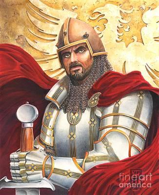 Sir Gawain Poster by Melissa A Benson