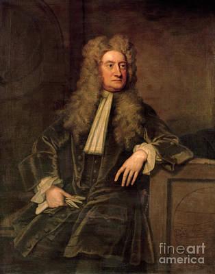 Sir Isaac Newton  Poster by Sir Godfrey Kneller