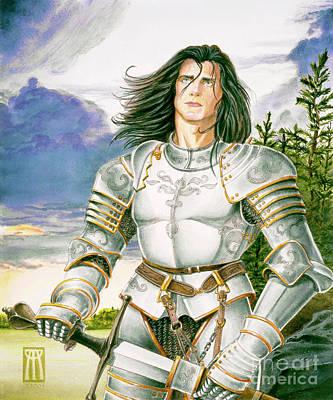 Sir Lancelot Poster by Melissa A Benson