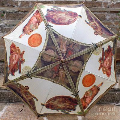 Sistine Chapel Umbrella Poster by Joy Tudor