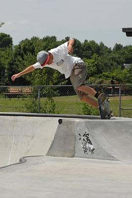 Skateboarding 16 Poster by Joyce StJames