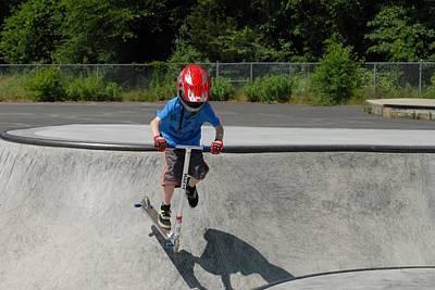 Skateboarding 24 Poster by Joyce StJames