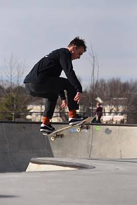 Skateboarding 28 Poster by Joyce StJames