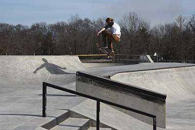 Skateboarding 32 Poster by Joyce StJames