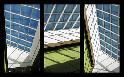 Skylight Triptych II Poster by Jessica Jenney