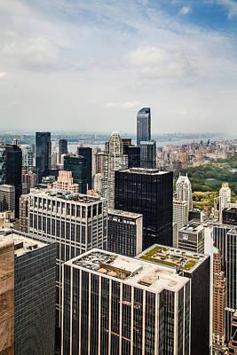 Skyscraper City Poster by Az Jackson