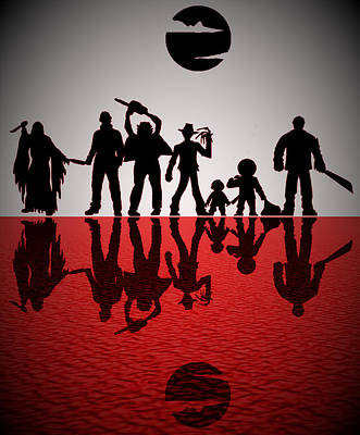 Slashers Poster by Michael Bergman
