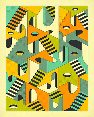 Sleepwalking Poster by Jazzberry Blue