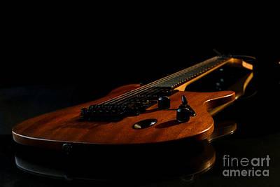 Slow-hand-guitar Poster by Franziskus Pfleghart