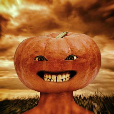 Smiling Jack Poster by Wim Lanclus