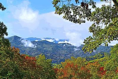 Smokey Mountain Mountain Landscape - A Poster by James Fowler