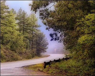 Smokey Mountain Road Poster by Shirley Dawson