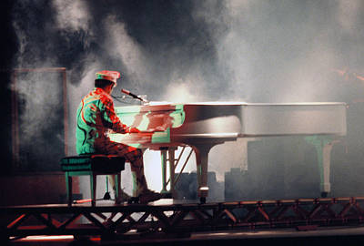 Smokin' Elton Poster by Scott Smith