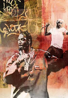 Snoop Graffitti  42 Poster by Jani Heinonen