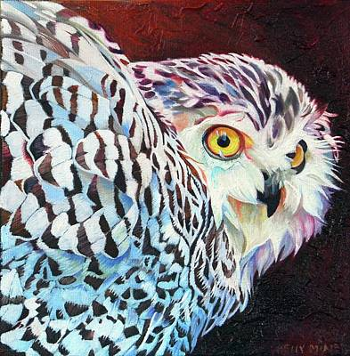 Snowy Owl Poster by Kelly McNeil
