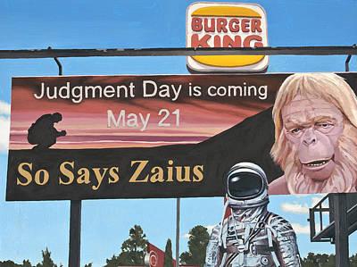 So Says Zaius Poster by Scott Listfield