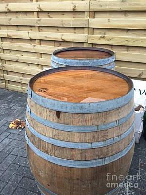 Soaked Barrels Poster by Evan N