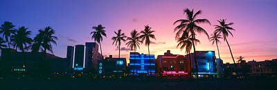 Sobe, Miami Beach, Florida Poster by Panoramic Images