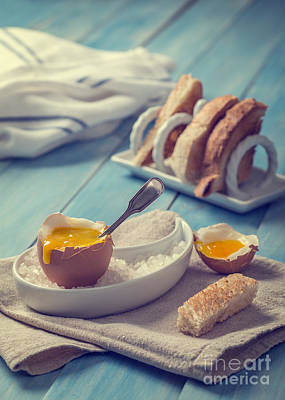 Soft Boiled Egg Poster by Amanda And Christopher Elwell