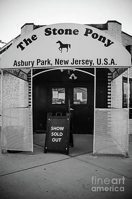 Sold Out Show - Stone Pony Poster by Colleen Kammerer