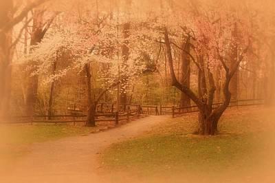Sometimes - Holmdel Park Poster by Angie Tirado