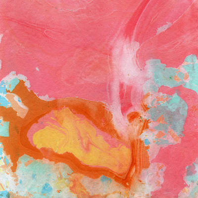 Somewhere New 2- Abstract Art By Linda Woods Poster by Linda Woods