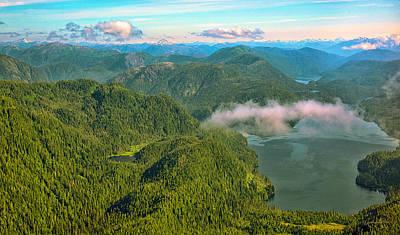 Over Alaska - June  Poster by Madeline Ellis