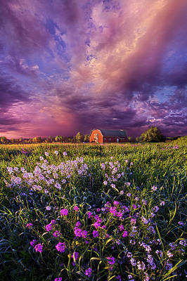 Songs Of Days Gone By Poster by Phil Koch