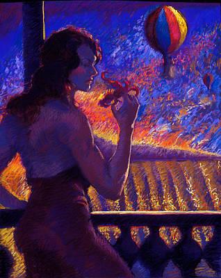 Sonoma Sunrise Poster by Ellen Dreibelbis