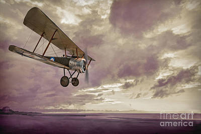 Sopwith Pup Biplane Poster by Amanda And Christopher Elwell