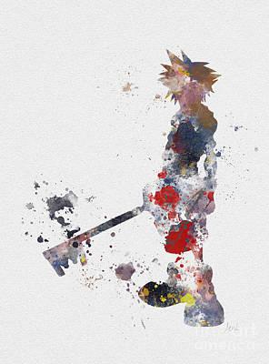 Sora Poster by Rebecca Jenkins