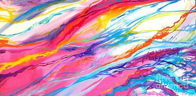 Soul Escaping Poster by Expressionistartstudio Priscilla-Batzell