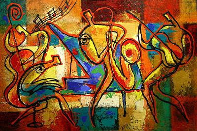 Soul Jazz Poster by Leon Zernitsky