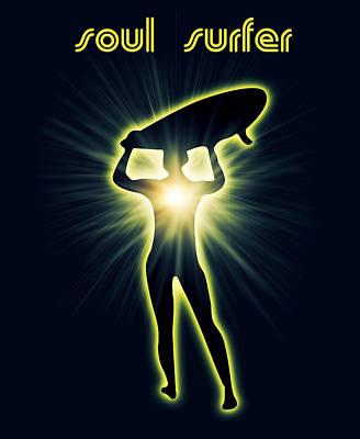Soul Surfer Poster by Mark Ashkenazi