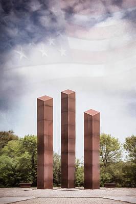 Southeastern Wisconsin Vietnam Veterans Memorial Poster by Scott Norris