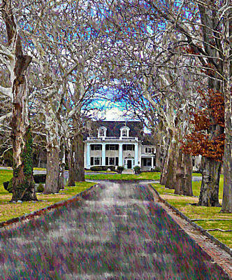 Southern Gothic Poster by Bill Cannon