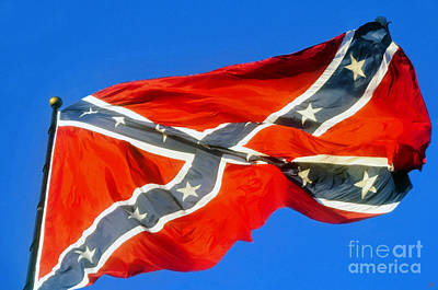 Southern Heritage Poster by David Lee Thompson