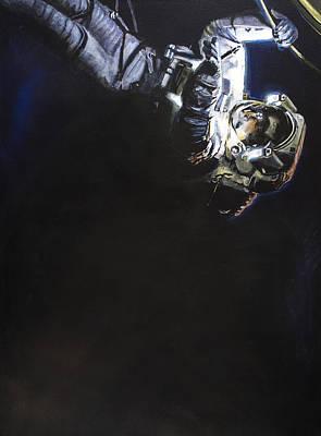 Spacewalk 1  Poster by Simon Kregar