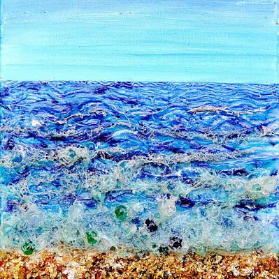 Sparkling Sea Poster by Regina Valluzzi