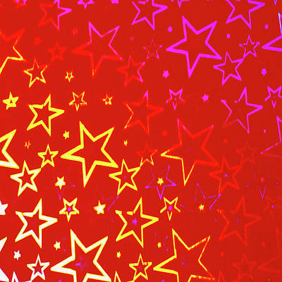 Sparkling Stars No. 01 Poster by Ramon Labusch