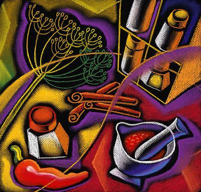Spice Art Poster by Leon Zernitsky