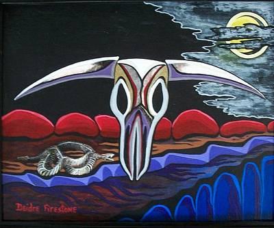 Spirits Of The Desert Poster by Deidre Firestone