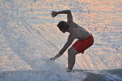 Splash Poster by Don Columbus